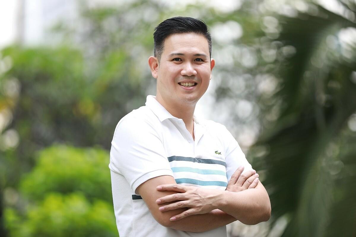 Ông Phạm Văn Tam quyết định đồng hành cùng chương trình Startup Việt 2020 do báo VnExpress tổ chức với mong muốn thúc đẩy hệ sinh thái khởi nghiệp tại Việt Nam. Ảnh: Hữu Khoa.