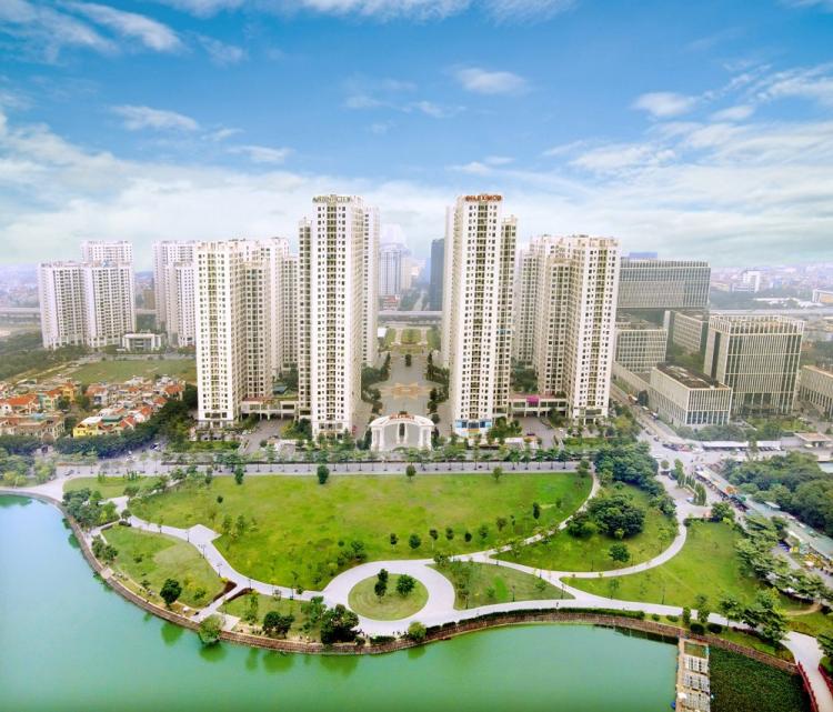 Dự án An Bình City nhìn từ trên cao.