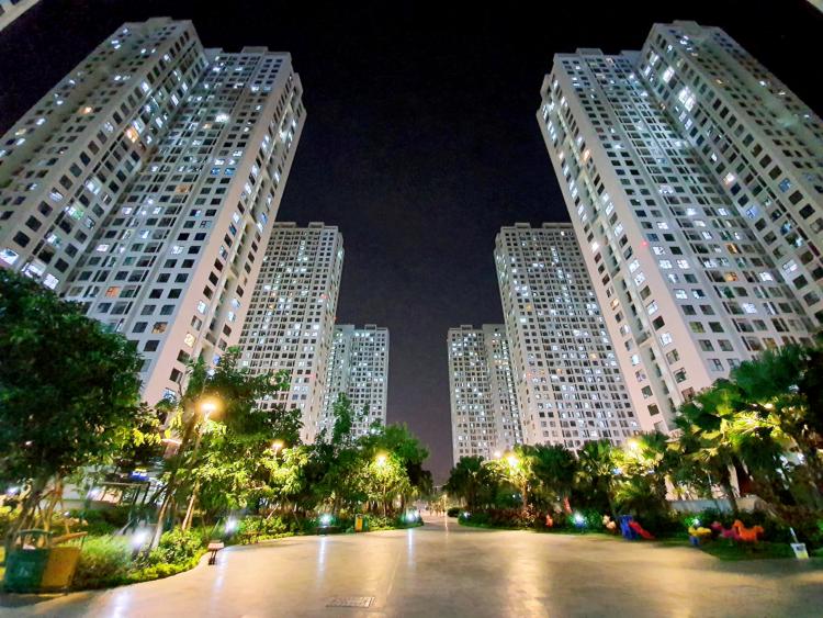 Quang cảnh An Bình City về đêm.
