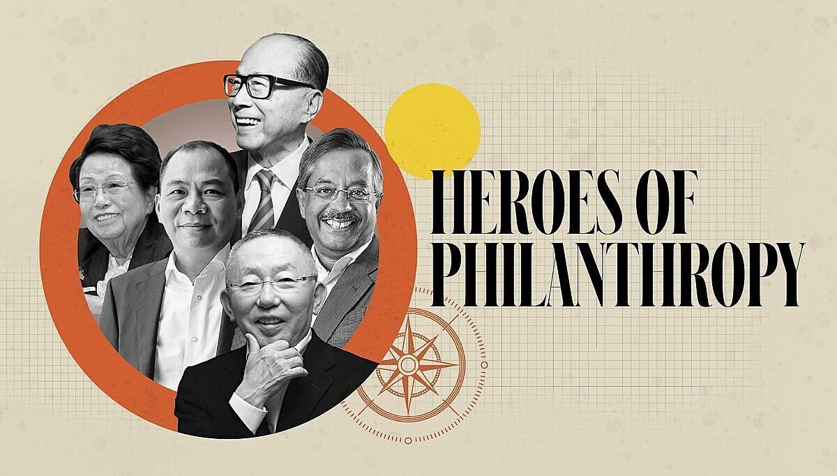 5 nhà từ thiện hào phòng nhất theo công bố của Forbes năm 2020. Ảnh: Forbes.