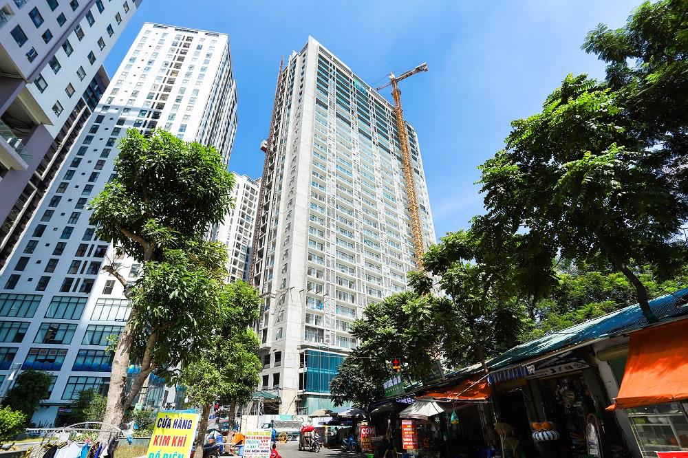 Căn hộ An Bình Plaza thu hút đông đảo khách hàng.
