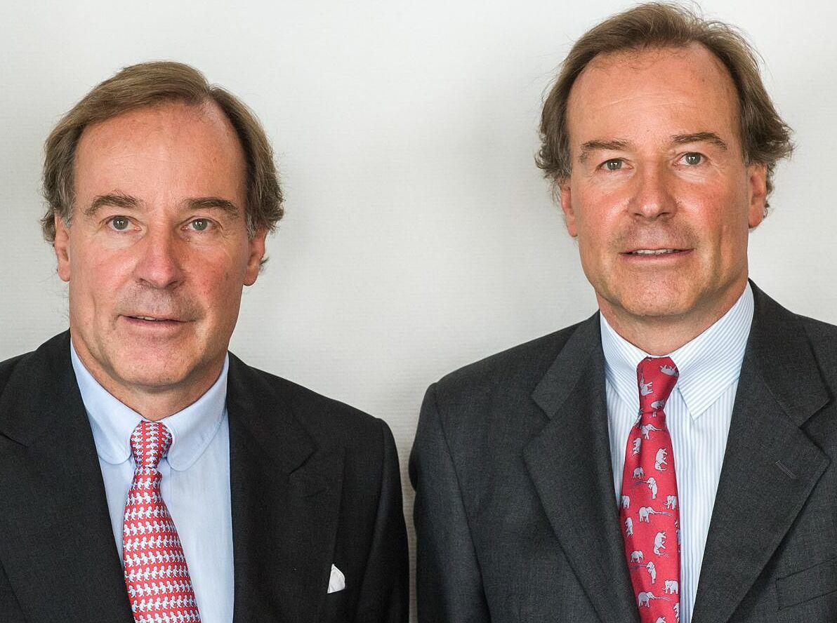 Hai anh em Andreas và Thomas Struengmann. Ảnh: Manager Magazin
