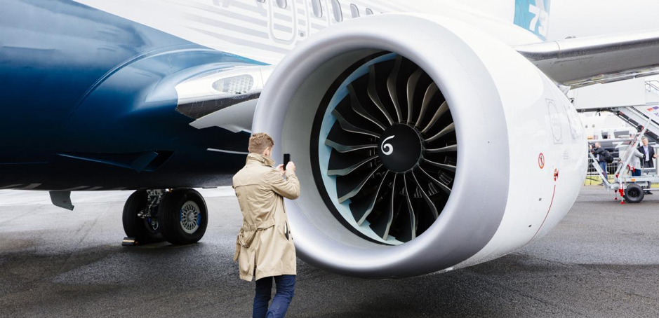 Động cơ General Electric có sự gắn bó khăng khít với dòng 737. Ảnh: GE.