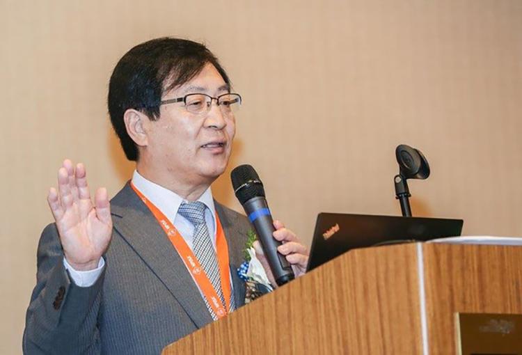 Giáo sư Shigeo Ohta, Đại học Y Nippon Nhật Bản, Chuyên gia tại Viện nghiên cứu Hydro phân tử.Ảnh: Nguồn Viện Hydro phân tử MHI.