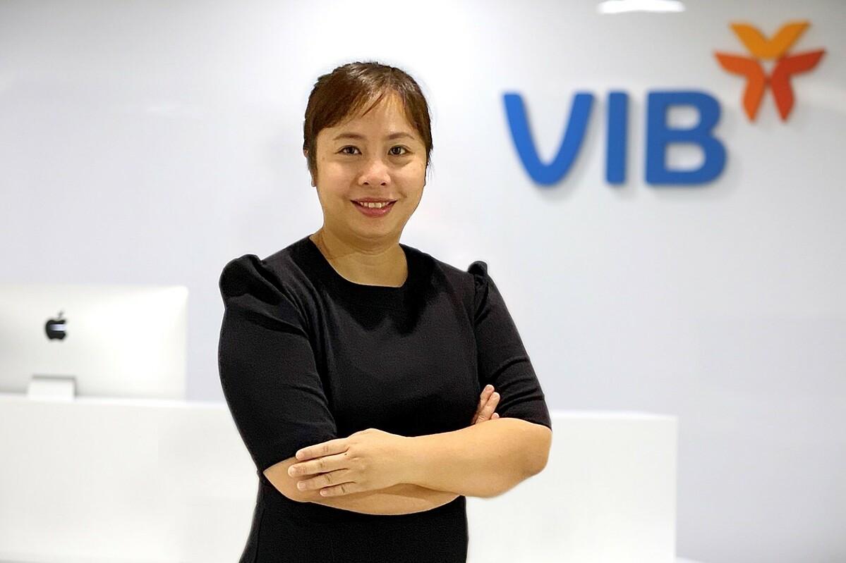 Bà Nguyễn Thị Tuyết Hà - Giám đốc Trung tâm Chuyển đổi số VIB. Ảnh: VIB.
