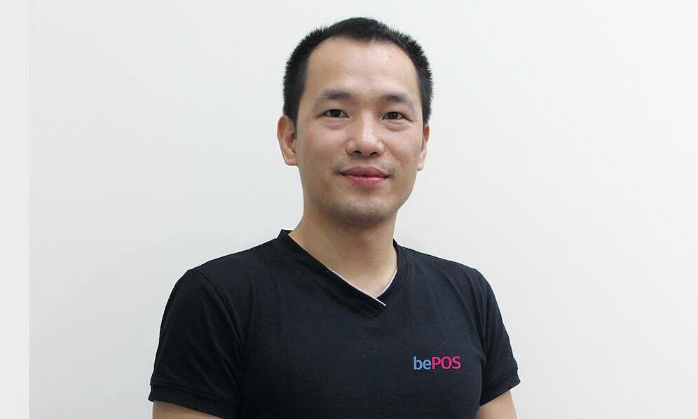 anh Bách Nguyễn, đồng sáng lập bePOS. Ảnh: bePOS.