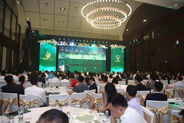 Hơn 500 khách mời tham dự sự kiện ra mắt Ivory Villas & Resort.