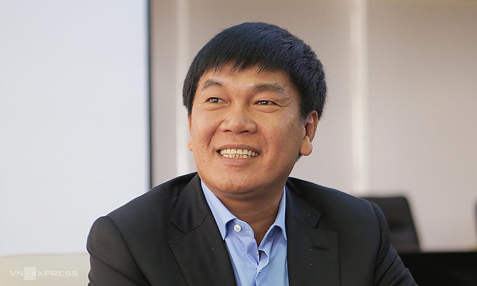 Ông Trần Đình Long - Chủ tịch Hòa Phát chia sẻ hồi tháng 3/2018, sau khi lần đầu được Forbes công nhận là tỷ phú. Ảnh: Anh Tú.
