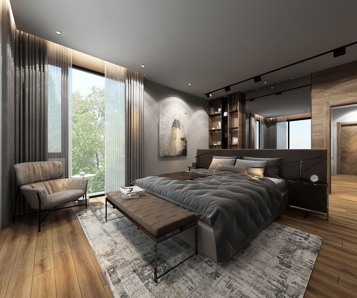 mới. Tuy nhiên, từng tính cách riêng biệt của mỗi cá nhân vẫn được tôn trọng và được thể hiện chất riêng trong các không gian cá nhân như phòng ngủ.