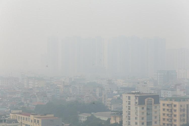Ô nhiễm không khí tại Hà Nội đang ở ngưỡng báo động.