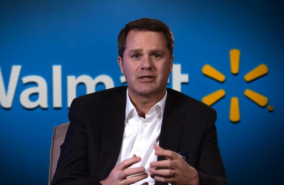 CEO hãng bán lẻ Walmart Doug McMillon. Ảnh: Walmart