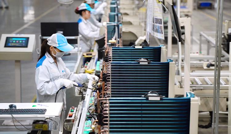 Nhà máy sản xuất điều hòa của thương hiệu Nhật Bản tại Việt Nam.Ảnh: Daikin.