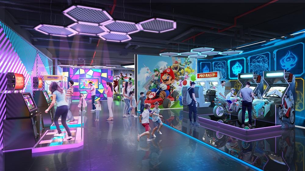 Phòng chơi game tại The Terra - An Hưng.