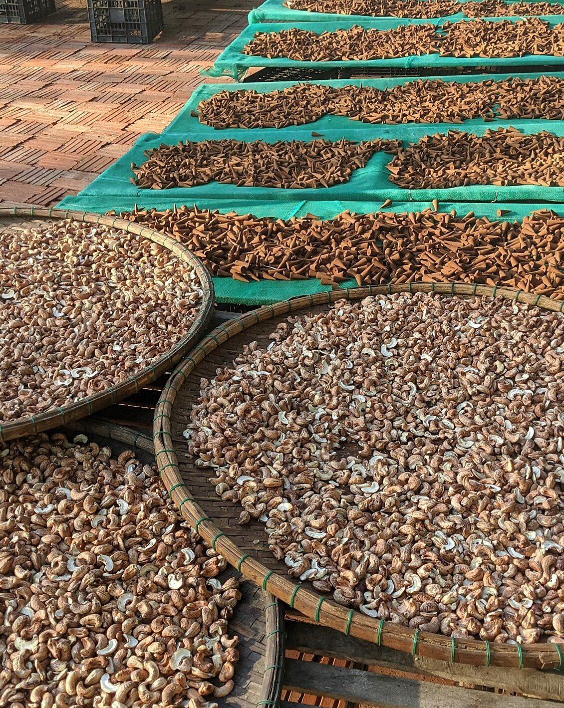 Sản phẩm nông sản sạch của Hồng Thu.