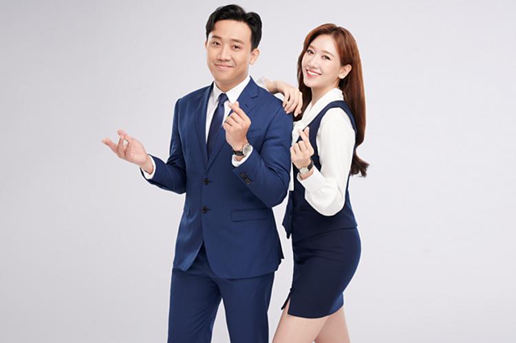 Ngân hàng Woori kỳ vọng vợ chồng Trấn Thành, Hari Won mang đến hình ảnh tích cực cho khách hàng. Ảnh: Ngân hàng Woori.