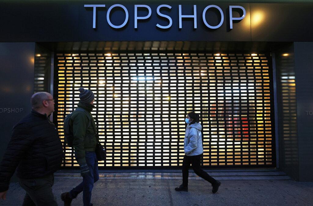 Một cửa hàng của thương hiệu Topshop thuộc Arcadia. Ảnh: Reuters