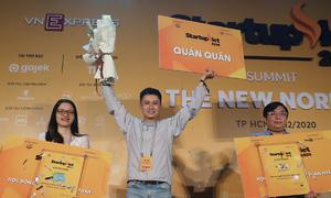 Tép Bạc đoạt quán quân Startup Việt 2020