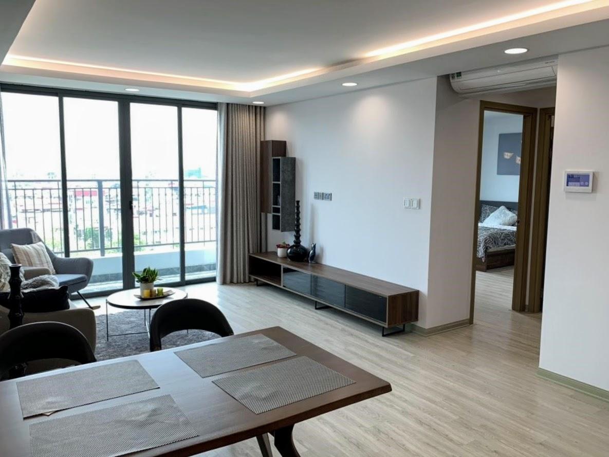 Yếu tố chính sách ưu đãi từ chủ đầu tư đóng vai trò quan trọng với người mua nhà, đặc biệt là khách hàng trẻ. Ảnh căn hộ One 18 (quận Long Biên, Hà Nội).