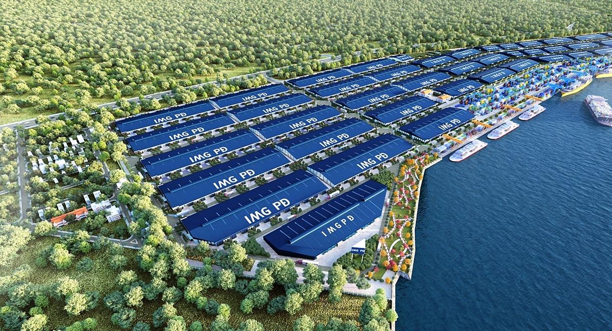 Dự án sở hữu lợi thế giao thông kết nối cả về đường bộ lẫn đường thủy.