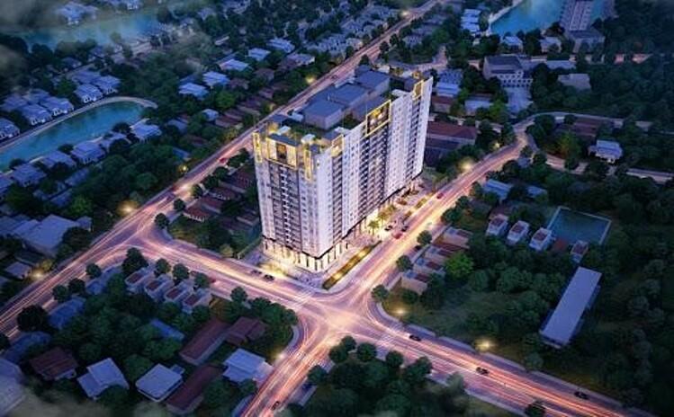 Dự án One 18 sở hữu vị trí chiến lược trung tâm quận Long Biên. Ảnh: IDB Việt Nam.