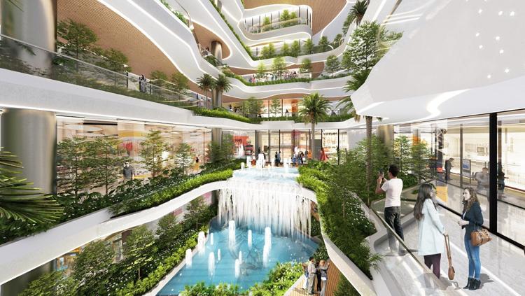 Những dự án với nhiều không gian xanh và tiện ích đang được các nhà đầu tư quan tâm.