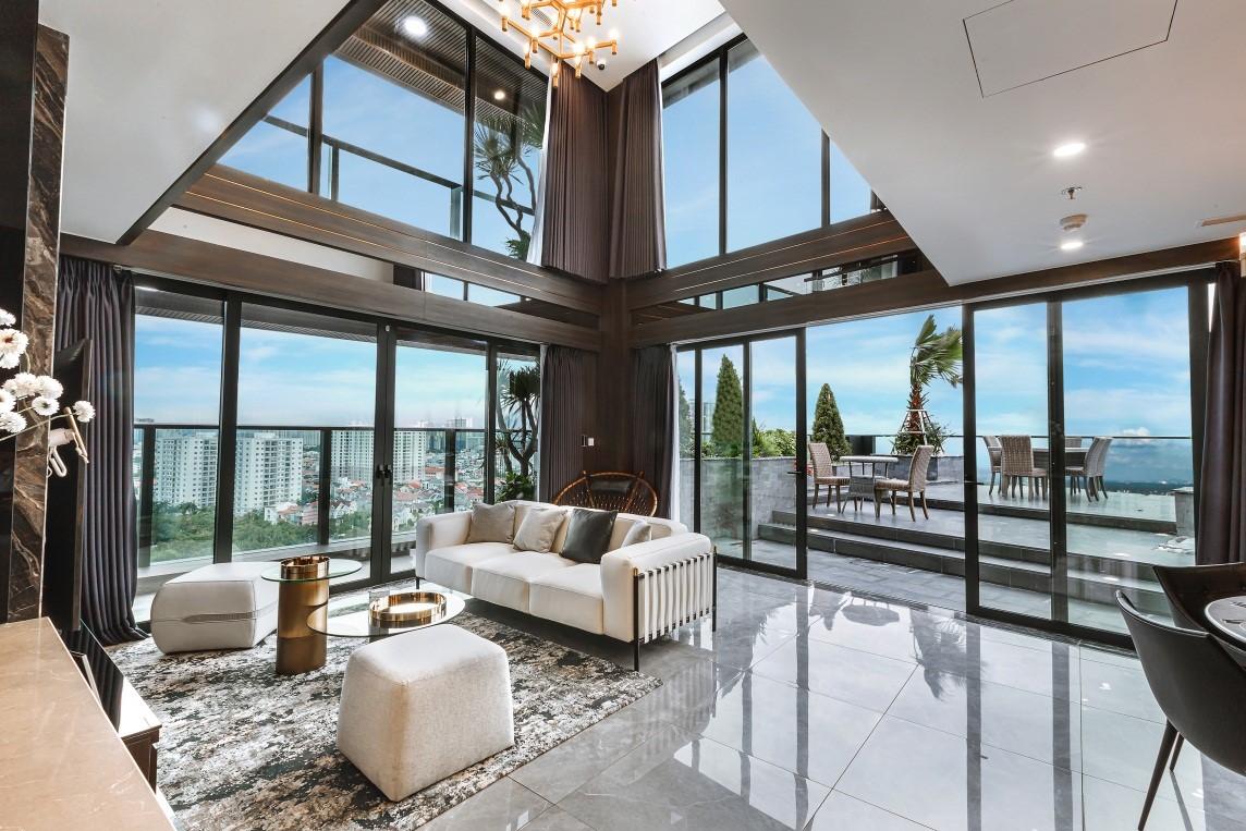 Các căn Sky Garden mang đến không gian sống chuẩn nghỉ dưỡng cho chủ nhân thành đạt.