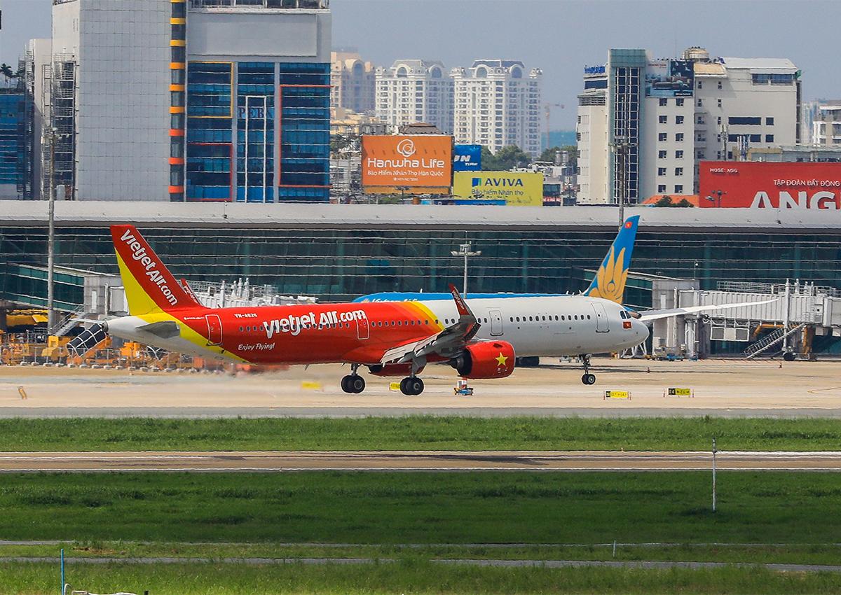 Các hãng hàng không đều khó khăn do ảnh hưởng dịch covid-19. Ảnh: Quỳnh Trần