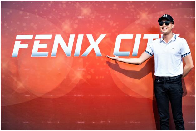 Doanh nhân, diễn viên Quốc Trường là một trong những nhà đầu tư tại dự án Fenix City.