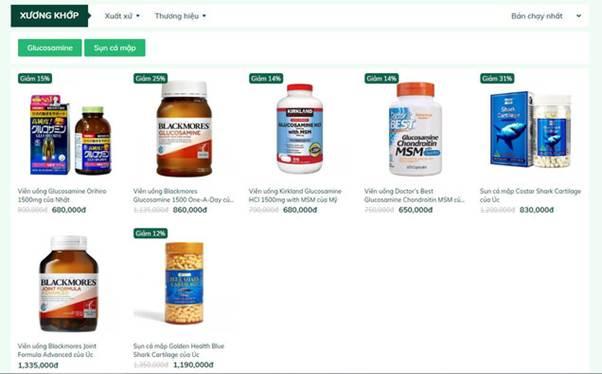 Đơn vị cung cấp các sản phẩm chăm sóc sức khỏe từ hàng loạt thương hiệu nổi tiếng toàn cầu.