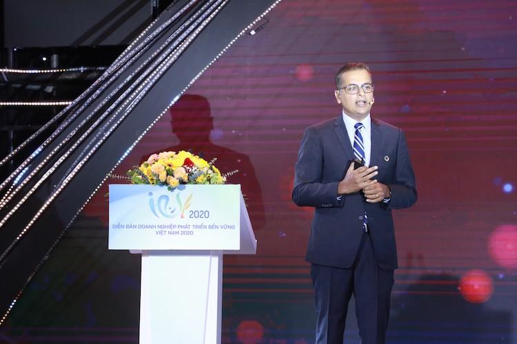 Đại diện Nestlé Việt Nam tại diễn đàn