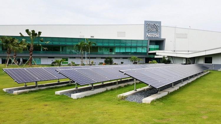 Đại diện Nestlé Việt Nam công bố lộ trình loại bỏ hoàn toàn phát thải năm 2050.