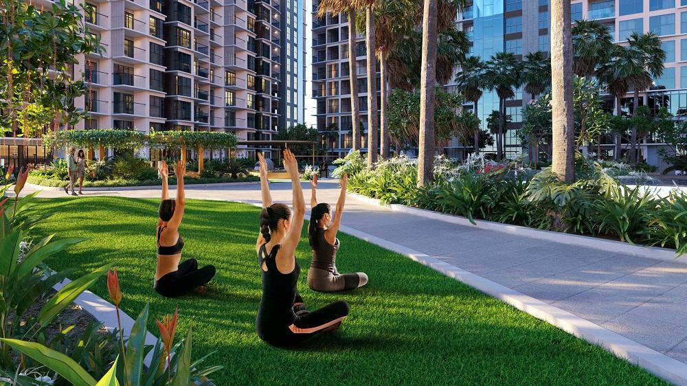 Làm mới bản thân và lấy lại năng lượng tại resort tại gia Diamond Centery.
