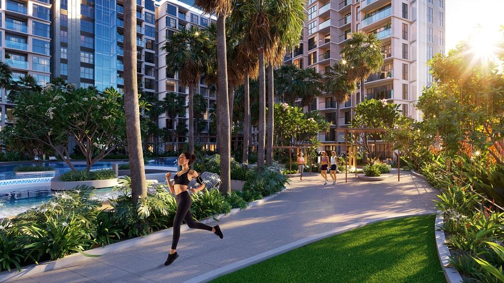 Diamond Centery mở ra một không gian sống hài hoà giữa thiên nhiên đậm chất nghỉ dưỡng giữa lòng đô thị.