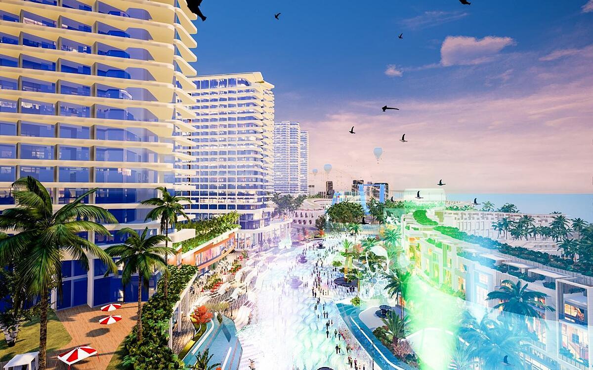 Khi hoàn thành Mũi Né Summerland được kỳ vọng trở thành Las Vegas thu nhỏ của Việt Nam.