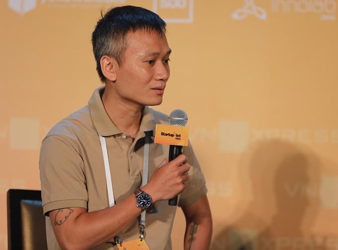 Ông Nguyễn Thành Long - Giám đốc Marketing tại Tiki. Ảnh: Startup Việt.