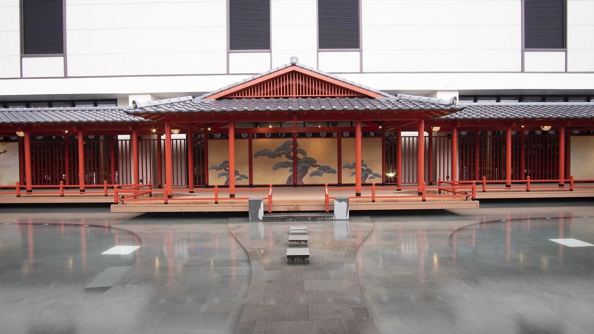 Không gian thiết kế mang đậm văn hóa Nhật Bản.