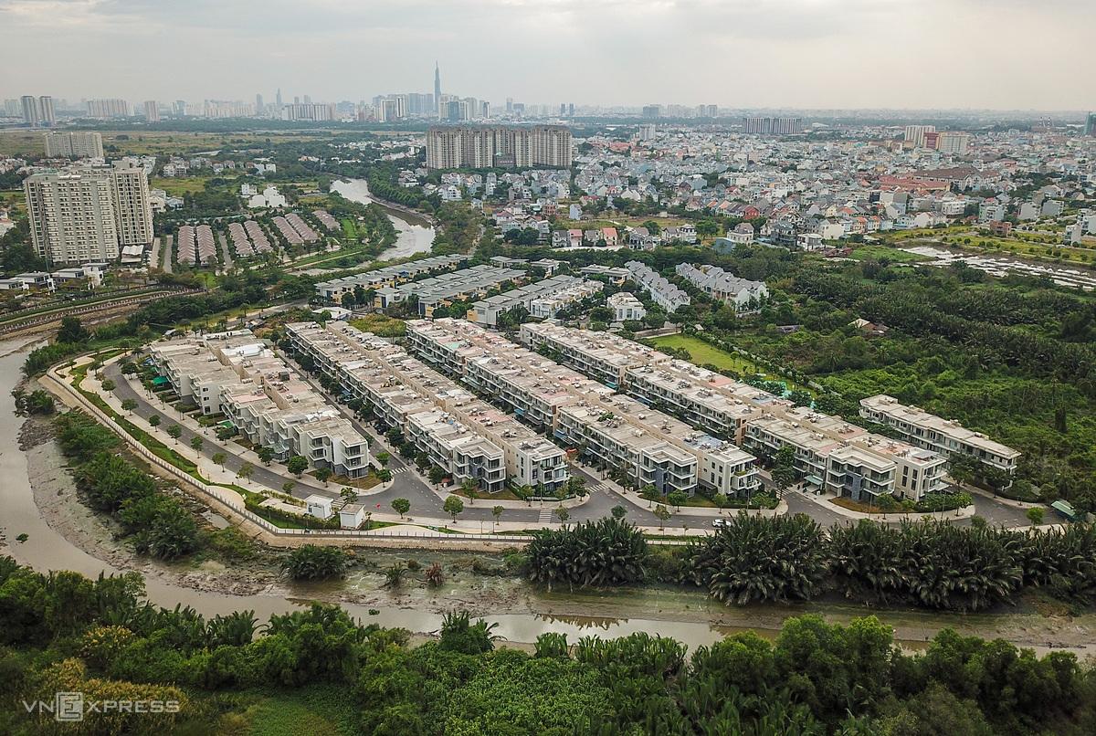Bất động sản quận 9, TP HCM. Ảnh: Quỳnh Trần.