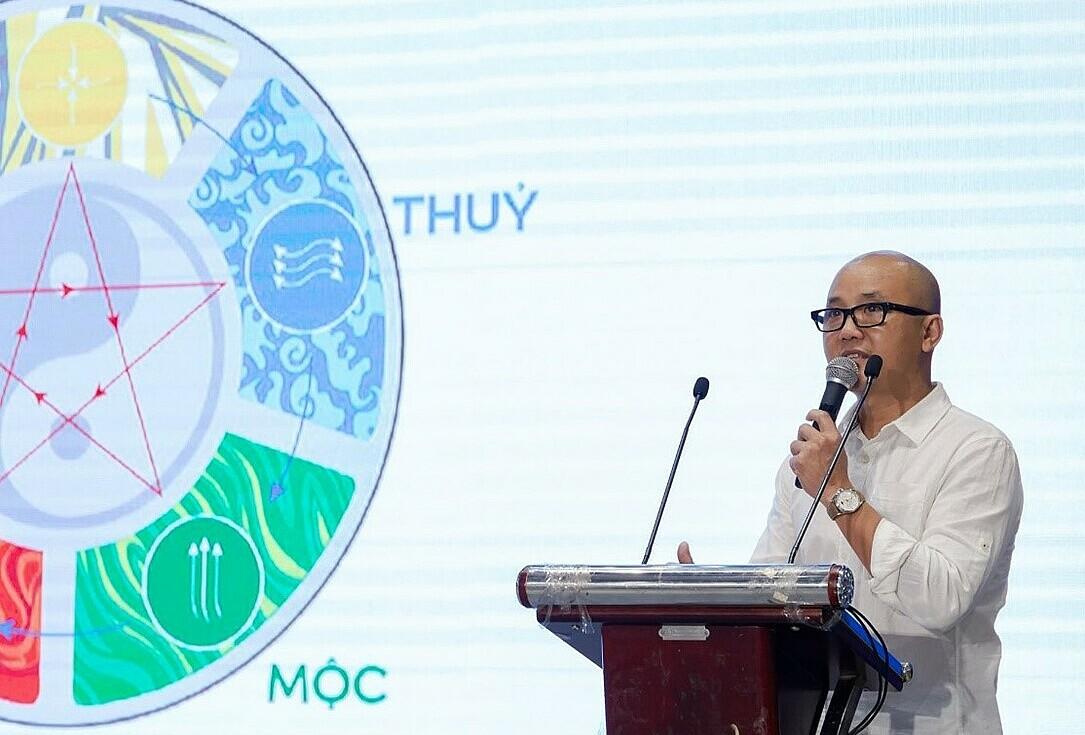 Kiến trúc sư Phạm Thanh Truyền. Ảnh: Quỳnh Trần.