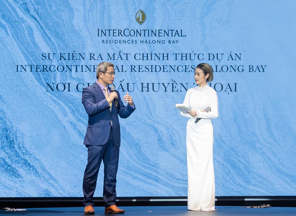 Ông Trần Trọng Kiên - Chủ tịch Hội đồng Tư vấn Du lịch Quốc gia (TAB) chia sẻ tiềm năng của dự án. Ảnh: BIM Group.