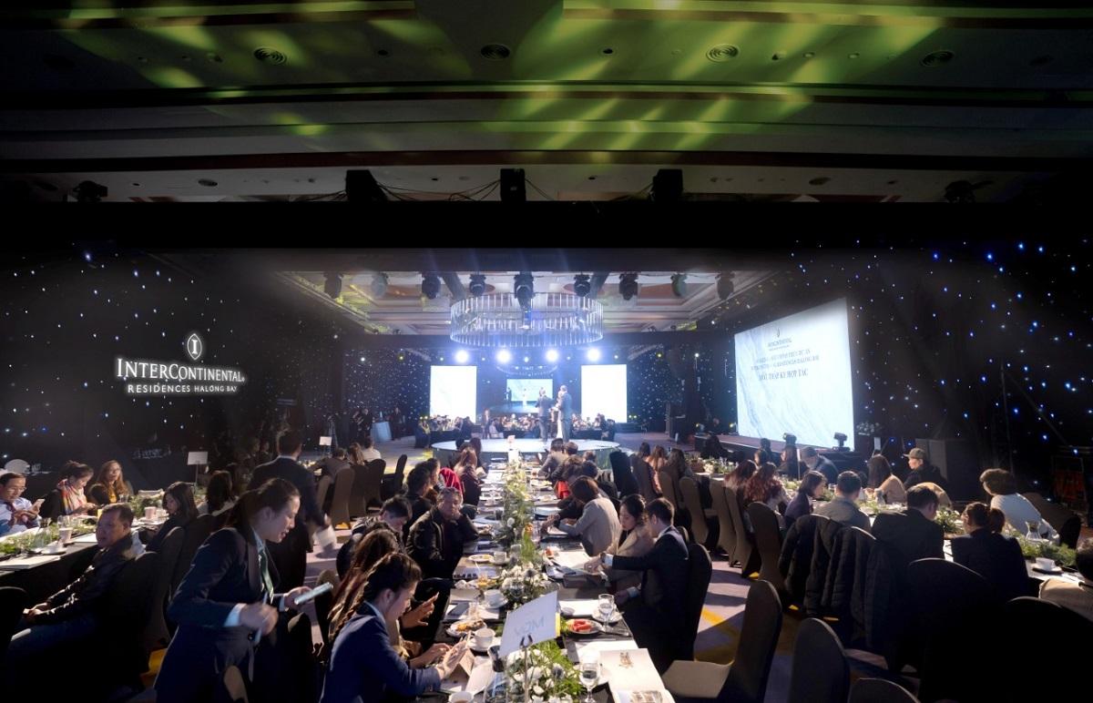 Hơn 200 nhà đầu tư tiềm năng tham dự sự kiện ra mắt dự án hôm 20/12. Ảnh: BIM Group.