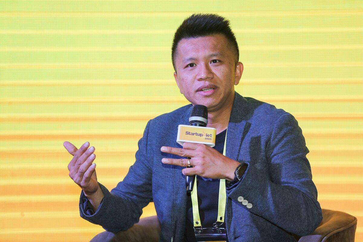 Ông Huỳnh Lâm Hồ - Đồng sáng lập kiêm CEO Haravan. Ảnh: Quỳnh Trần.