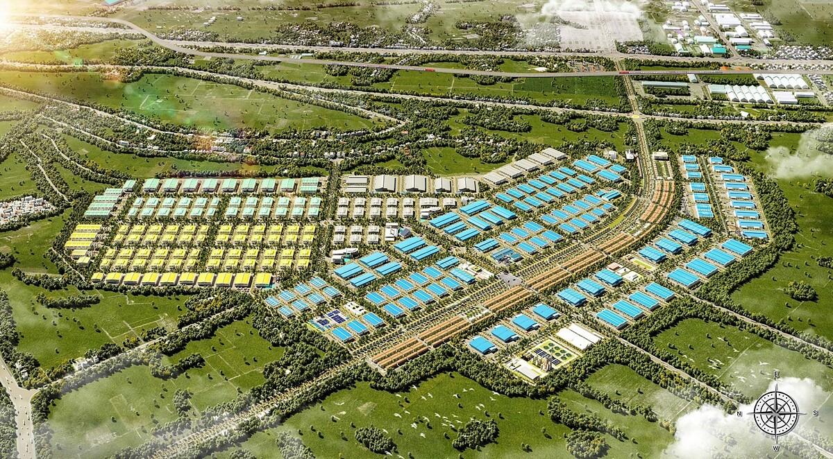 Khu công nghiệp Minh Hưng Sikico tỉnh Bình Phước. Ảnh phối cảnh: Minh Hưng Sikico.