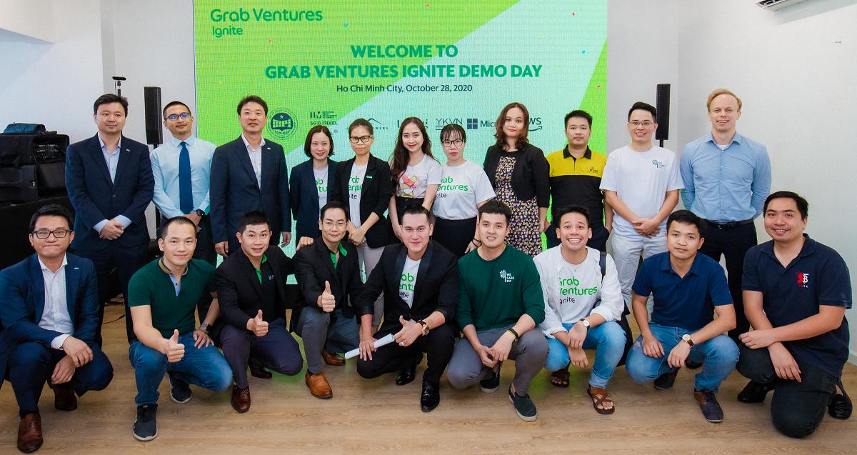 Startup nhận nhiều hỗ trợ về cơ hội huy động vốn, kiến thức, kinh nghiệm từ GVI. Ảnh: Grab.