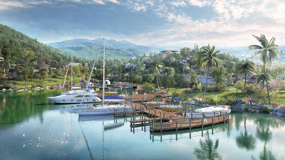 Parahills Resort đưa du thuyền 5 sao lên núi.