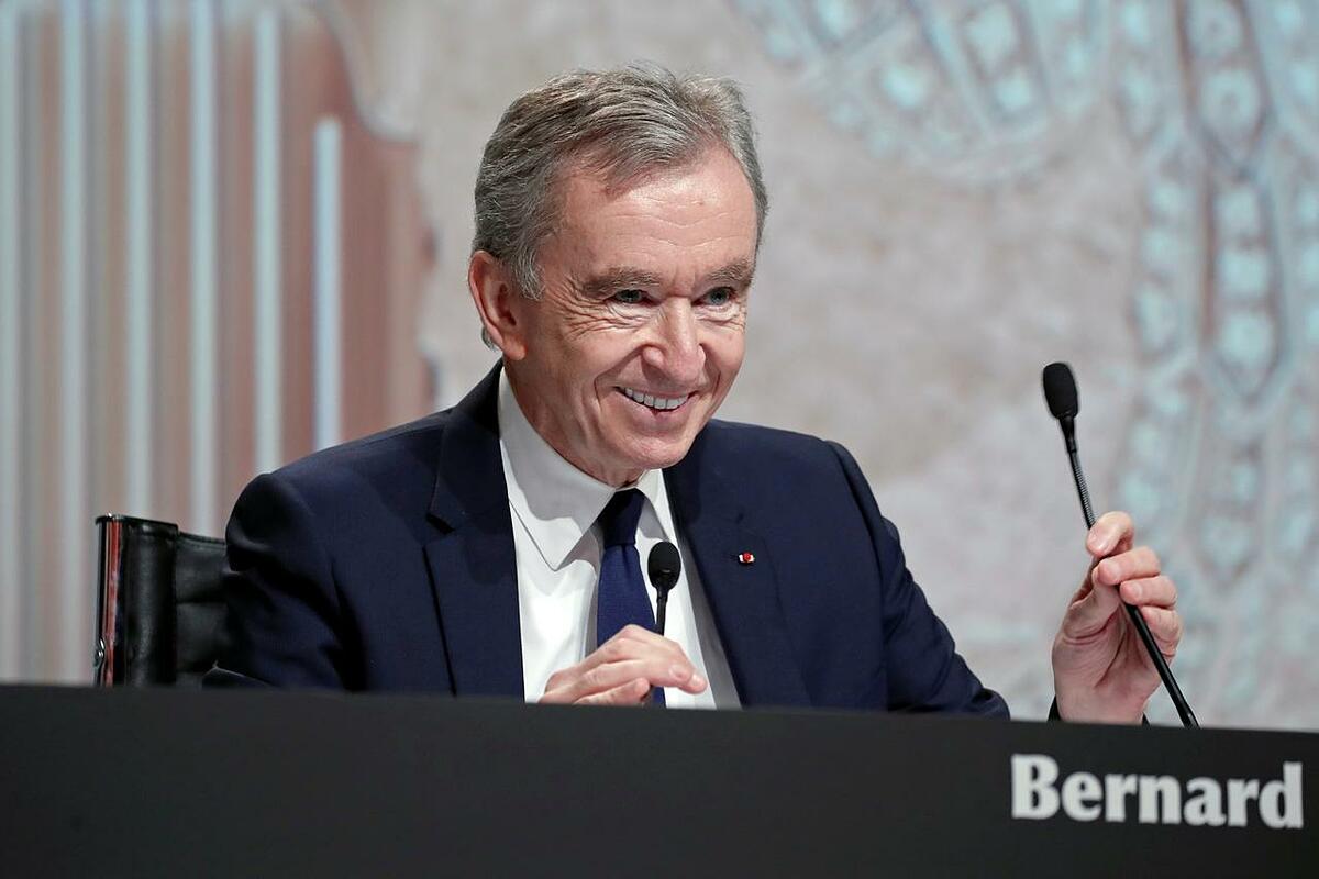 LVMH boss Bernard Arnault.  Photo: Reuters