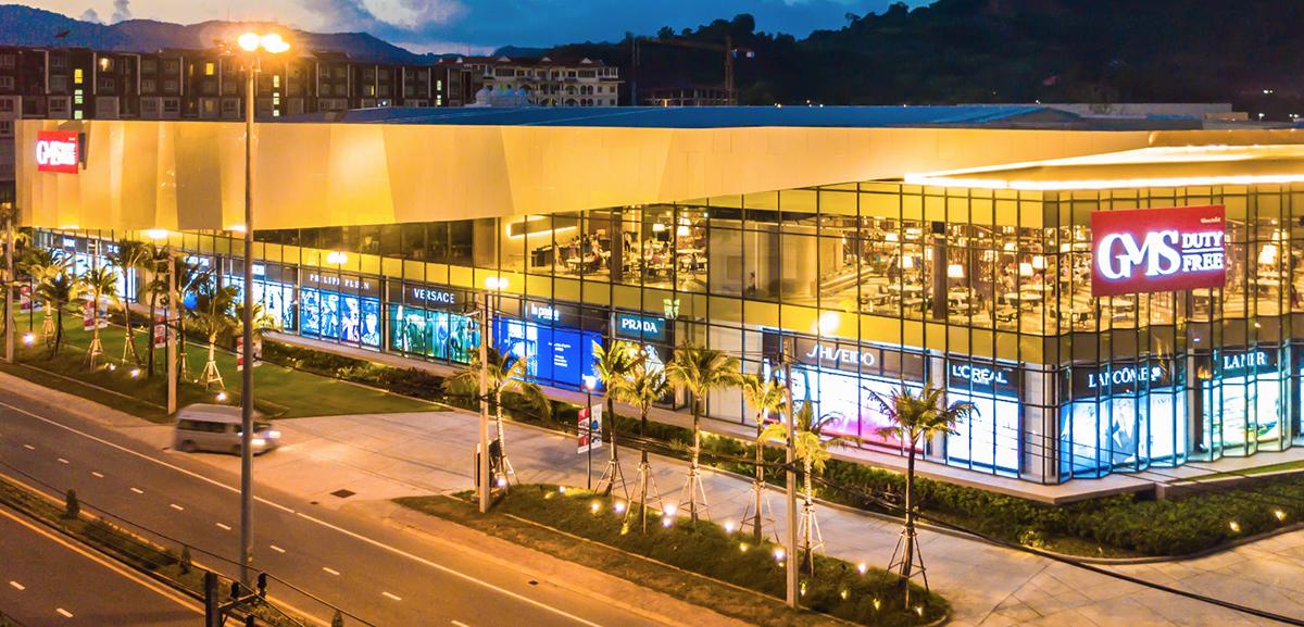 Một downtown duty-free tại Phuket, Thái Lan. Ảnh: GMS