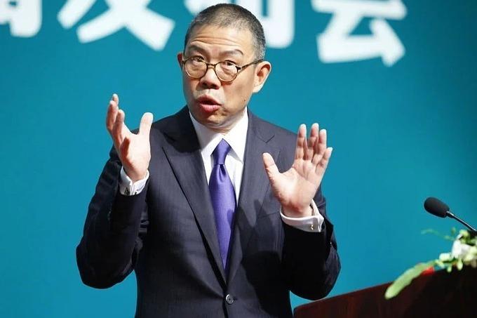 Zhong Shanshan - founder of Nongfu Spring.  Photo: Weibo