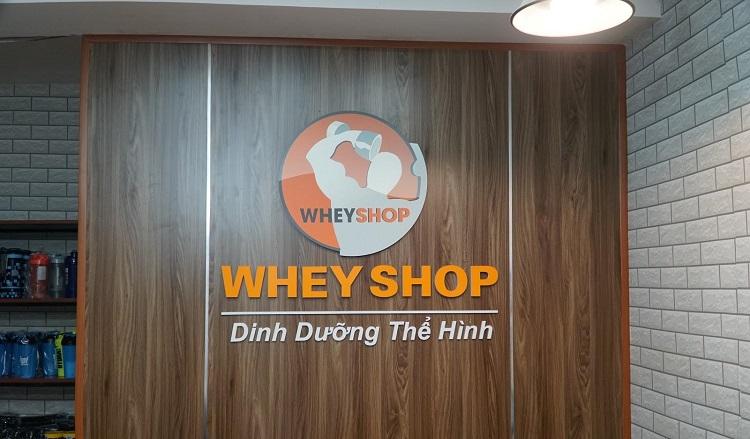 Cửa hàng WheyShop tại Hà Nội.