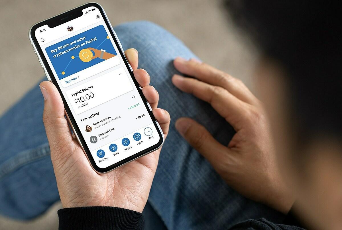 PayPal năm nay cho phép người dùng mua bán tiền số. Ảnh: PayPal
