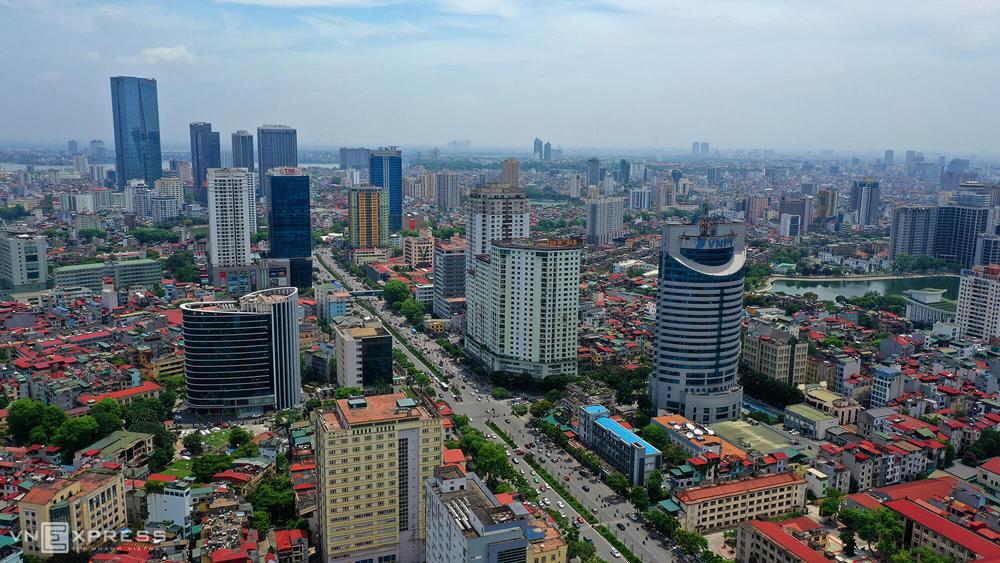 Thị trường bất động sản Hà Nội. Ảnh: TĐH.